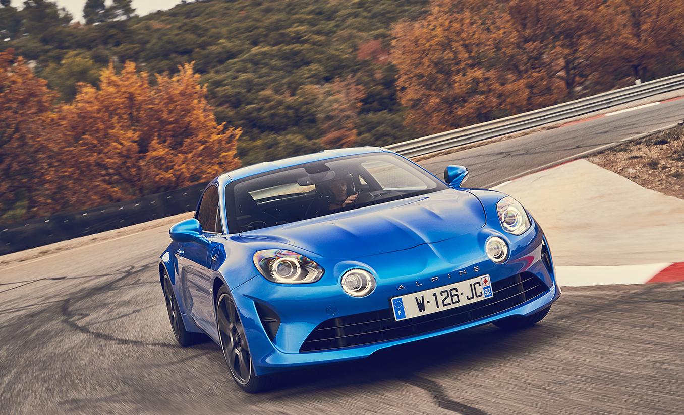 studio mobile pour test drive, track days, Lancement de produit Alpine