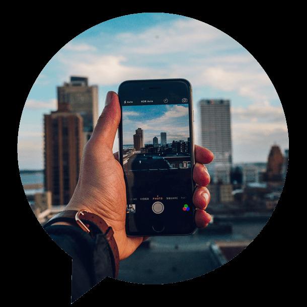 social wall pour amplifier et activer les réseaux sociaux depuis un smartphone
