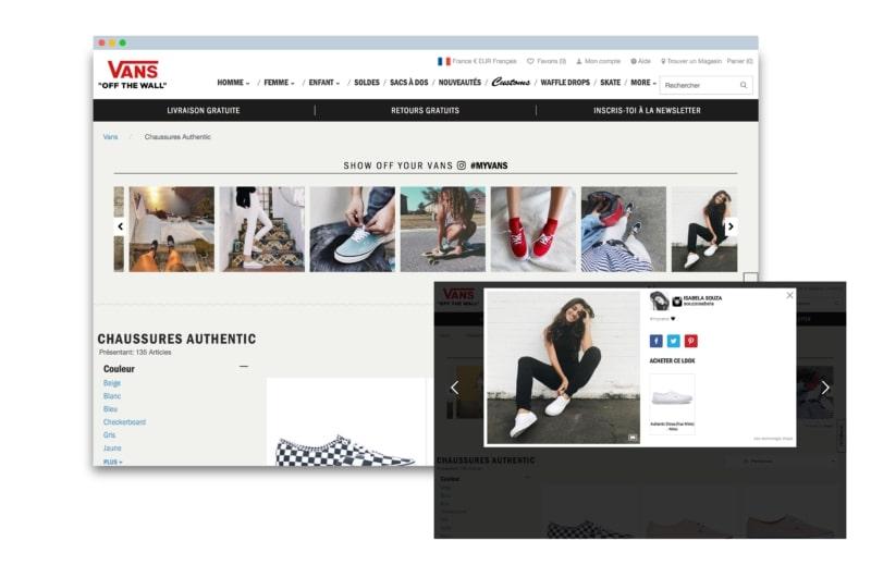 van's social wall site web