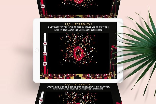 SocialWall Inauguration et concours Sephora