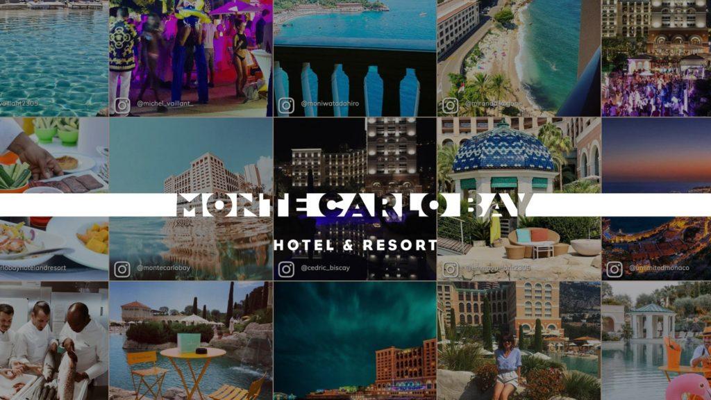 social wall realisé pour Monte Carlo Bay