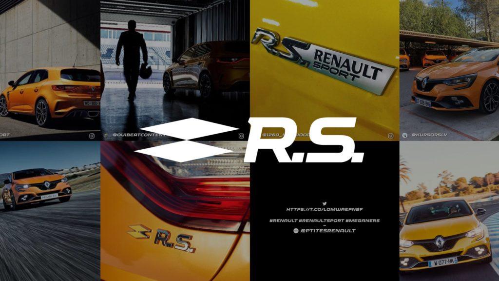 social wall realisé pour Renault Sport