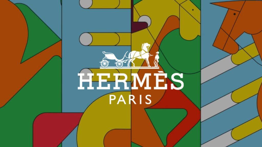 social wall realisé pour le saut Hermès